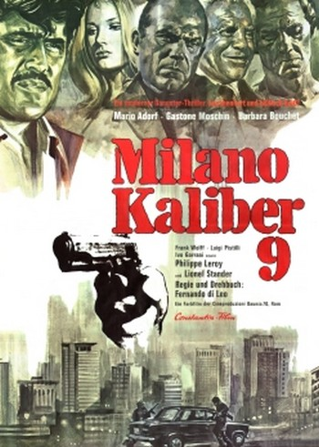 Milano calibro 9 ,locandina
