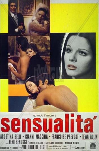 Quando l'amore è sensualità locandina 1