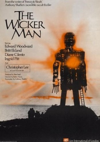 The wicker man locandina