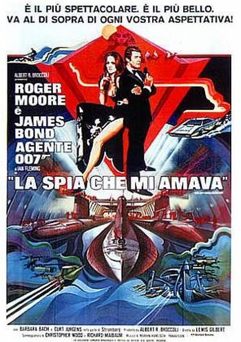 007 La spia che mi amava locandina
