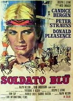 10 Soldato blu locandina