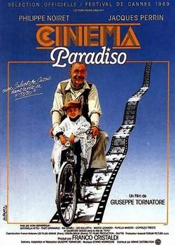 16 Nuovo Cinema Paradiso locandina