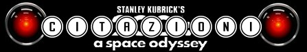2001 odissea nello spazio banner citazioni