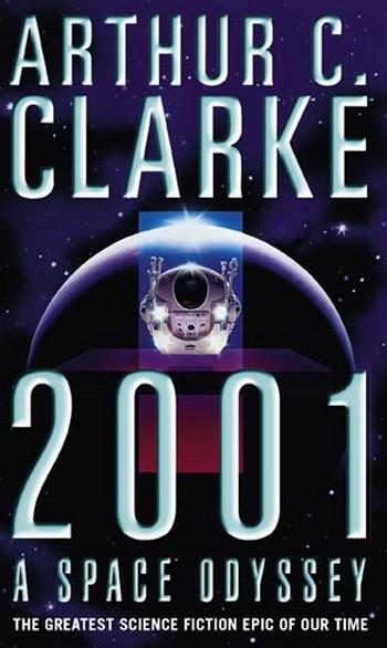 2001 odissea nello spazio locandina libro