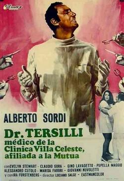 3 Il Prof. Dott. Guido Tersilli Primario della Clinica Villa Celeste convenzionata con le mutue locandina