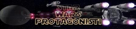 Guerre stellari banner protagonisti