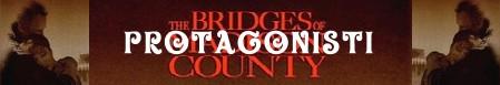 I ponti di Madison County banner protagonisti