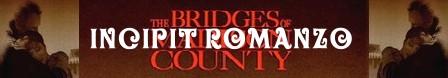 I ponti di Madison County banner romanzo