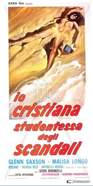 Io cristiana studentessa degli scandali locandina 2