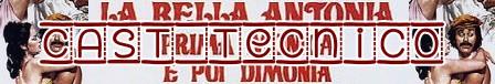 La bella Antonia banner cast