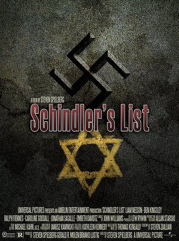Schindler list locandina