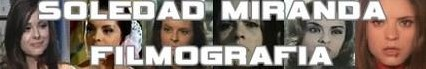 Soledad Miranda banner filmografia
