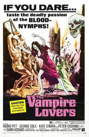 Vampiri amanti locandina