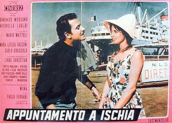 0 Appuntamento a Ischia (1960) lobby card