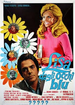 11 Lisa dagli occhi blu (1970) locandina