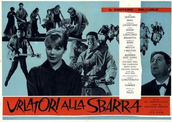 17 Urlatori alla sbarra (1960) lobby card