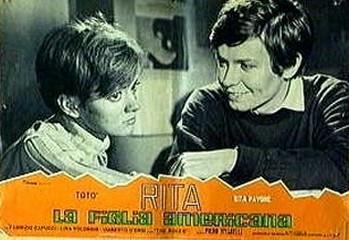 20 Rita, la figlia americana (1965) lobby card
