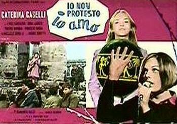 22 Io non protesto, io amo (1967) lobby card