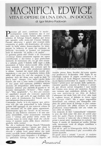 6 Amarcord 1995 Fenech