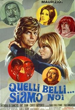 8 Quelli belli... siamo noi (1970) locandina