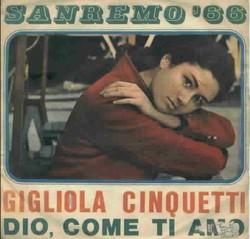9 Dio, come ti amo (1966) disco