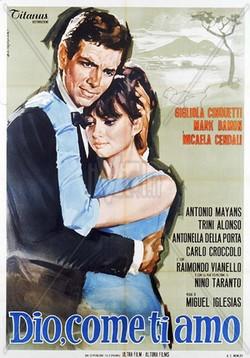 9 Dio, come ti amo (1966) locandina