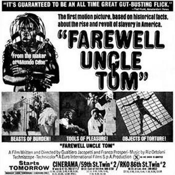 Addio zio Tom locandina flano