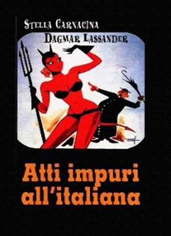 Atti impuri all'italiana locandina