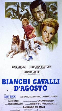 Bianchi cavalli d'agosto (1974) locandina