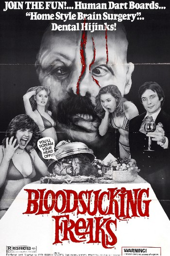 Bloodsucking freaks locandina
