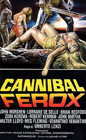 Cannibal ferox locandina