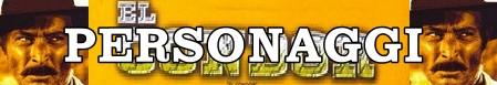 El condor banner personaggi