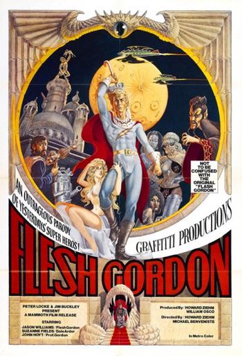 Flesh Gordon, andata e ritorno dal pianeta Porno locandina