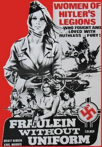 Fraulein in uniforme locandina