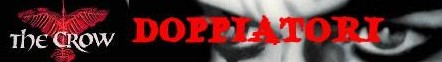 Il corvo banner doppiatori