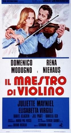 Il maestro di violino (1976) locandina