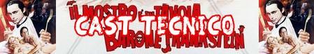 Il mostro è in tavola Barone Frankenstein banner cast