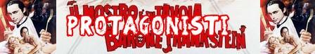 Il mostro è in tavola Barone Frankenstein banner protagonisti