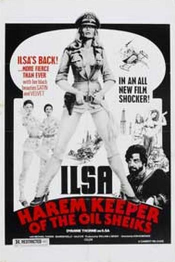 Ilsa la belva del deserto locandina 2