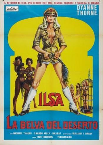 Ilsa la belva del deserto locandina