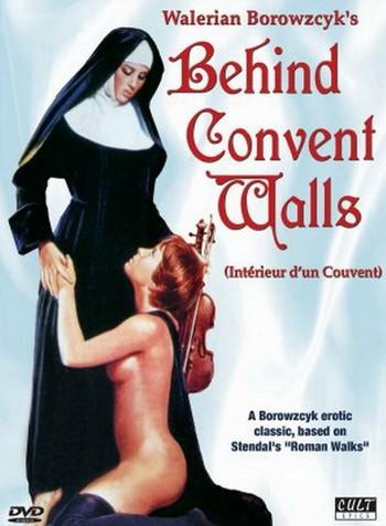 Interno di un convento locandina
