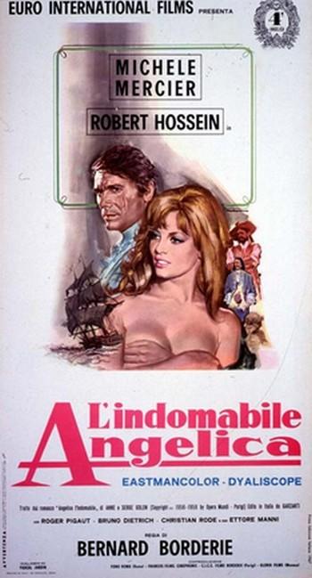 L'indomabile Angelica locandina 2