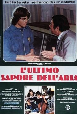 L'ultimo sapore dell'aria (1978) locandina