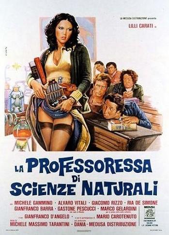 La professoressa di scienze naturali locandina
