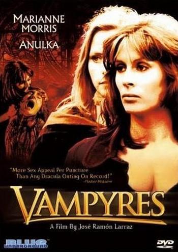 Ossessione carnale Vampyres locandina