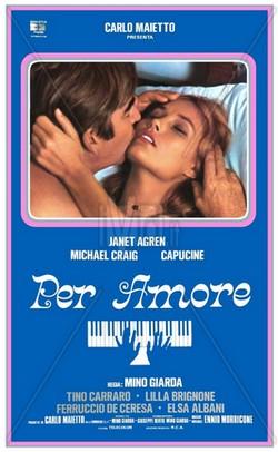 Per amore (1976) locandina