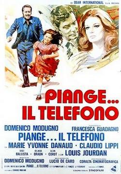 Piange... il telefono (1975) locandina