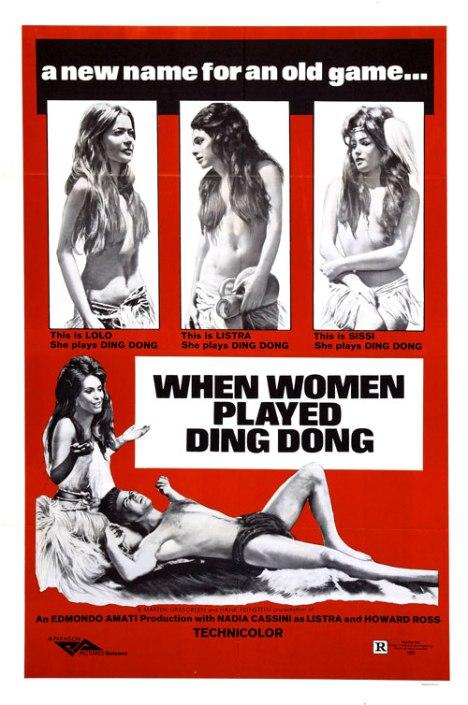 Quando gli uomini armarono la clava e... con le donne fecero din-don locandina