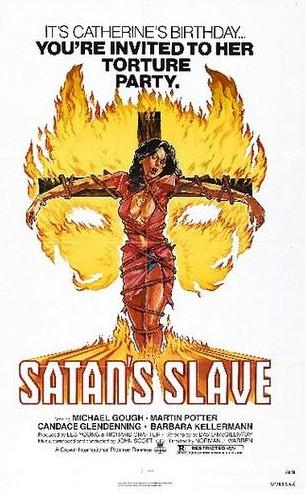 Satan's slave locandina 1