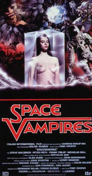 Space vampires locandina 1
